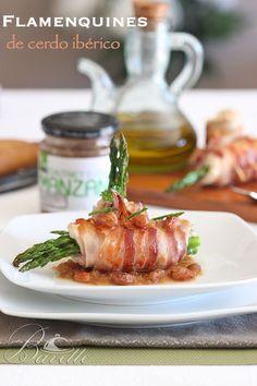 Flamenquines de cerdo ibérico con chutney de manzana