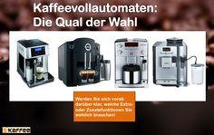 wertvolle Tipps, die helfen, sich für den richtigen Kaffeevollautomaten zu entscheiden.