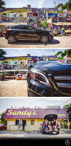 Let's go on an adventure... The Mercedes-Benz GLA 250 shooted by Drew DeGennaro.  [Mercedes-Benz GLA 250 | Combined fuel consumption 6.2–6.1 l/100km | combined CO2 emission 145–142 g/km | http://mb4.me/efficiency_statement]