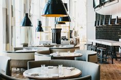 Atlanta Restaurant - The St Cecelia Bistro in Atlanta is a luxurious, light-flooded space infused with a Mediterranean inspirations that delight and please. The Meyer D...