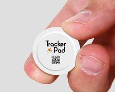 TrackerPad el localizador GPS del tamaño de una moneda