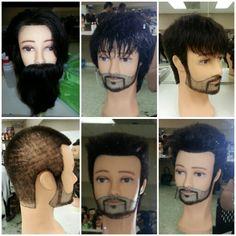 Long to short. Halloween Face Makeup, Hair