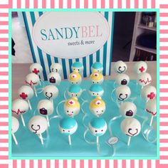 Medical #cakepops by #sandybel #medical #nürnberg #fürth