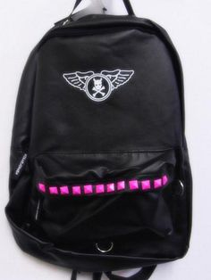 Synthetic Leather Backpack w/ Studs Pink. See more at: http://www.cdjapan.co.jp/apparel/superlovers.html #harajuku #SUPER LOVERS