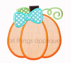 Bow Pumpkin