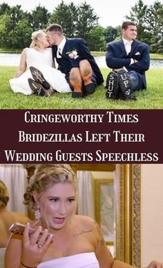 Planning a wedding is a lot of work, and although it is a huge burden for the couple getting married, they also share the stress with their wedding guests. #Cringeworthy #Bridezillas #WeddingGuests #Speechless