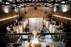 #fall #wedding #thefoundry #reception Real New York Queens Wedding at The Foundry by Laura Pennace Photography on Marry Me Metro, a city wedding blog http://marrymemetro.com