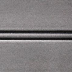 Conestoga Wood Specialties: Metal Fusion. Satin Patina White Gold on Paint Grade Hard Maple