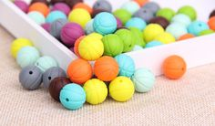 BPA Free Silicone Beads Wholesale, Basketball silicone beads