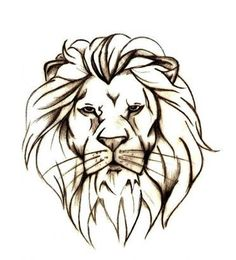 Lion - female tattoos - Full Tattoo Design - cute lion tattoo for ...: