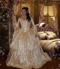Ultimate Fantasy Marie Antoinette Off Shoulder by RomanticThreads, $1250.00