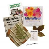 Microfleur MINI (5x5) Gift Set  use this microwave flower press to save your flowers