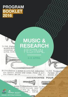 FlipSnack | Programmaboekje || music & research by musicandresearch