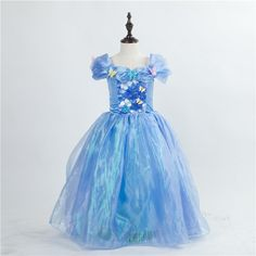 17.99$  Watch now - http://ali7zc.shopchina.info/1/go.php?t=32810776661 - HI BLOOM New 2017 Halloween Gift Christmas Dress For Kid Costume Carnival Party Wedding Princess Dresses Little Girls Clothes 17.99$ #buyonline