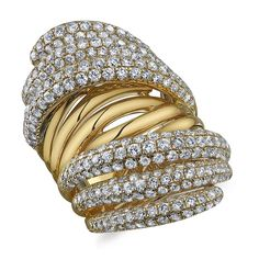 Fashion Ring With Diamonds