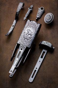 Westley Richards 700/577 Droplock Double Rifle