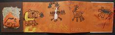 Artsonia Art Exhibit :: Prehistoric Cave Painting Books- Grade 1- Alum Creek