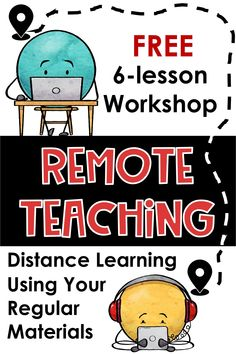 Trying to figure out Remote Learning? This free workshop will teach you how to use regular resources and technologies to make it happen. Teaching Strategies, Teaching Tips, Learning Resources, Teacher Resources, Teacher Workshops, School Closures, School Classroom, Google Classroom, Physics Classroom