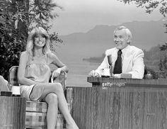 "Farrah smiles on ""The Johnny Carson Show"", 1978."
