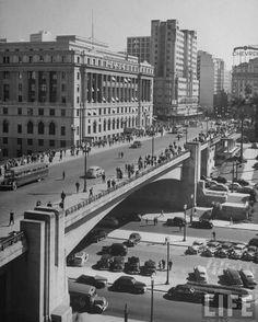 Viaduto do Chá em 1947