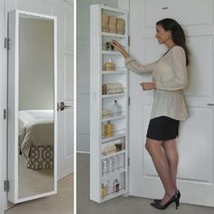 Amazon.com: Cabidor Mirrored Storage Cabinet: Home Improvement