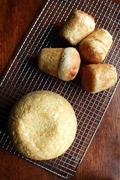 mini loaves of peasant bread