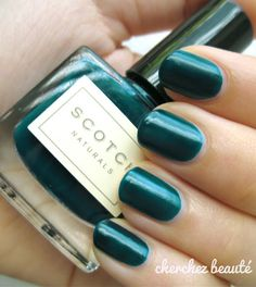 Scotch seething jealousy polish #nail #art