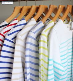Our Spring/Summer colours have just arrived #Breton #top #stripe #shirt #nautical #fashion #thenauticalcompany