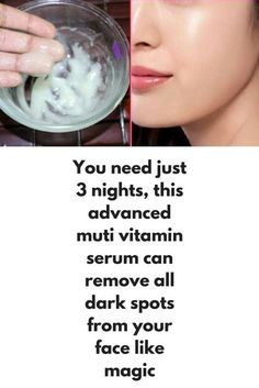 Advanced multi vitamin serum to get clear flawless skin in 3 days We all use many product by just looking at advertisement but they are not good for all skin types and most of the times results are not...