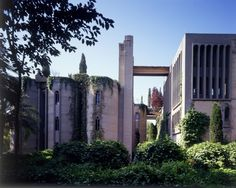 The Factory - Ricardo Bofill. Abandonded industrial complex transformed into the head office of Taller de Arquitectura