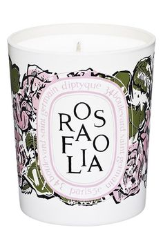 Free shipping and returns on diptyque 'Rosafolia' Candle (Limited Edition) at Nordstrom.com. The Rosafolia Candle by diptyque warms your home with a fresh green and rose accord intermingled with ivy, a symbol of attachment and loyalty that thrives amidst the rose.
