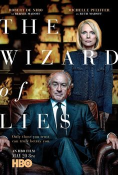 5/18/17  (*7*)  Robert De Niro and Michelle Pfeiffer in The Wizard of Lies (2017)