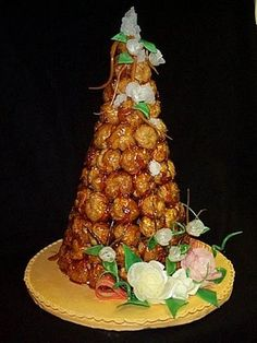 CONFESSIONS OF A PLATE ADDICT: Foodie Friday: Croquembouches...or...French Wedding Cakes!