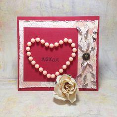 Valentine's day card { XOXOX }
