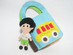 Personalized Children Activity Book with Doll Custom by ichimylove, $59.00