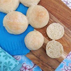 Recept voor zachte witte bolletjes / witte broodjes / soft white bread - Het keukentje van Syts