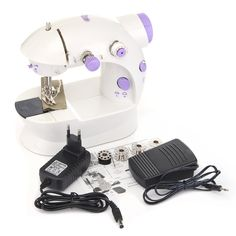 Discribtion:Portable Home Handwork Electric Mini Sewing Machine With Led Light new an. Sierra Leone, Montenegro, Sewing Machine Online, Sewing Machines, Uganda, Puerto Rico, Portable House, Womens Fashion For Work, Home Textile