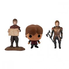 Game of Thrones Tyrion Lannister Figures (Set of 3)