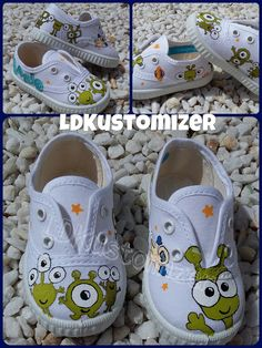 #shoes #zapas #alien #extraterrestrial #LDKustomizer