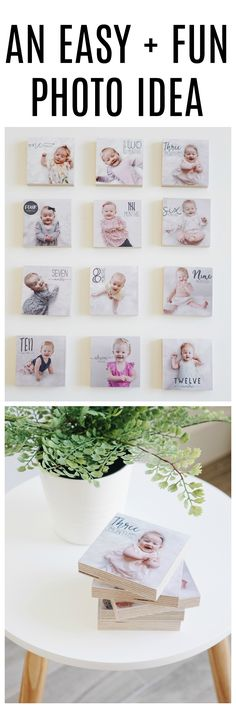 Print monthly baby photos on these gorgeous photo blocks from Shiner! Download the Little Nugget®️ app to capture your pregnancy & baby milestones in a photo. Add personalized text & beautiful artwork to create birth announcements, pregnancy announcements, gender reveals, #monthlybabyphotos, #babymilestones & firsts, week by week pregnancy photos, weekly baby photos, & more. Download 'Little Nugget' now by tapping the photo & start capturing your baby's moments & milestones. #babyapp