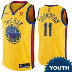 ad6293833 Golden State Warriors Nike Dri-FIT Youth Chinese Heritage 'The Bay'  Draymond Green #23 City Edition Swingman Jersey - Indigo