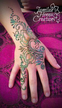 Balloon Fest Henna www.JamilahHennaCreations.com Mehndi Tattoo, Henna Tattoos, Henna Tattoo Designs, Henna Mehndi, Mehndi Designs, Black Henna, White Henna, Henna Body Art, Henna Art