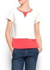 Çift Renk Tshirt MNG9068
