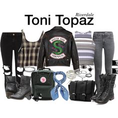 Punk Outfits, Fashion Outfits, Riverdale Set, Riverdale Fashion, Fantasy Dress, Inspired Outfits, Zodiac Signs, Topaz, Scary