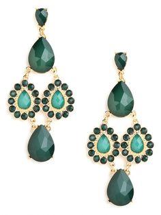 Emerald & Teal Tear Cascade