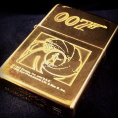 James Bond 007 Brass Zippo lighter