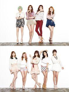 2013년 1월 9일 공개된 소녀시대 분들의 『I Got A Boy』인터뷰 보도사진들입니다.