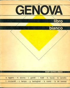 GENOVA LIBRO BIANCO, SAFGEP 1967