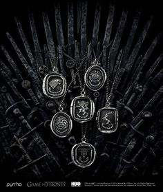 Pyrrha to Create Officially-Licensed 'Game of Thrones' Jewelry, stop by to order yours! #higashijewelry