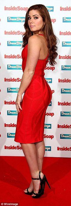 Jennifer Metcalfe rubber dress wins Sexiest Female at Inside Soap Soap Awards, Rubber Dress, Hollyoaks, Latex Dress, Skin Tight, Fashion Company, Sexy Women, Bodycon Dress, Glamour